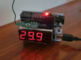 Arduino power level display meter